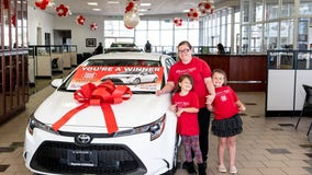 Mom who got her kids back from foster care given new car