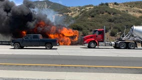 Devore Fire that sparked along Cajon Pass now fully contained