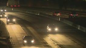 Shooting, crash on NB 101 Freeway in East Hollywood