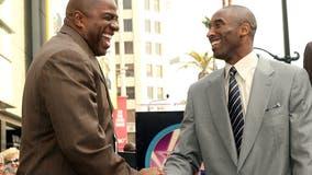'Your legacy lives forever': Magic Johnson honors fellow Hall of Famer Kobe Bryant