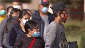 Groups rally against LA's COVID-19 vaccine mandate