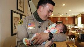Deputy saves life of unresponsive 10-day-old baby in San Bernardino County