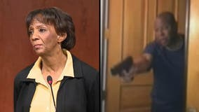 Jackie Lacey's husband ordered community service, anger management class for pointing gun at protesters