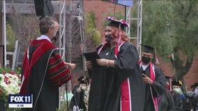 Biola University holds in-person graduation ceremonies