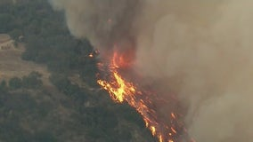 Mandatory evacuations remain in place as Palisades brush fire continues to grow