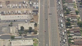 5 freeway in Commerce reopened after being closed due to police activity