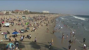 Scores of beach-goers packed SoCal coastline for Memorial Day weekend