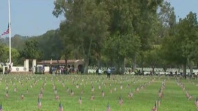 American flags allegedly stolen at Los Angeles National Cemetery