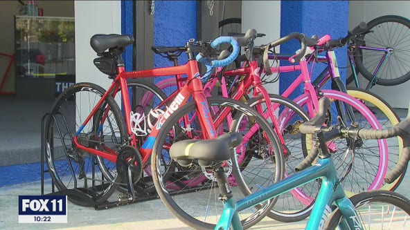 Local woman launches 'RideWitUs-LA' bike shop and club to promote fitness in her community