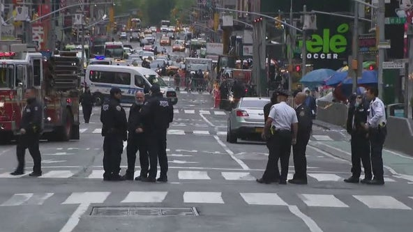 'I don't want to die': Times Square shooting victim speaks out as police hunt for gunman
