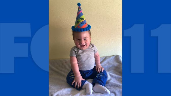 Family celebrates birthday of boy named after FOX 11 anchor