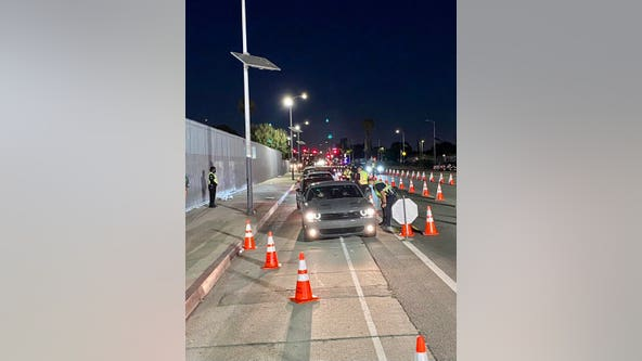Cinco de Mayo: LAPD targets impaired motorists