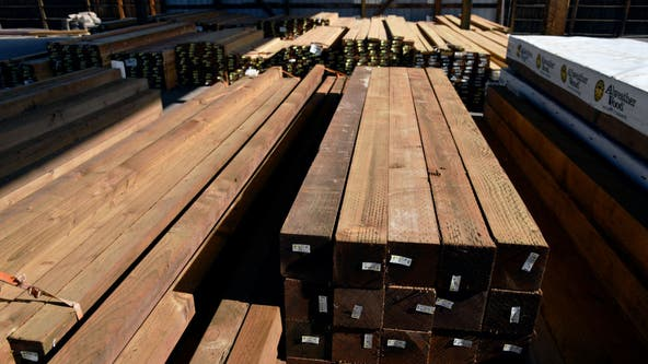 'Historically' high lumber prices adding more than $35K on average to new home price tag