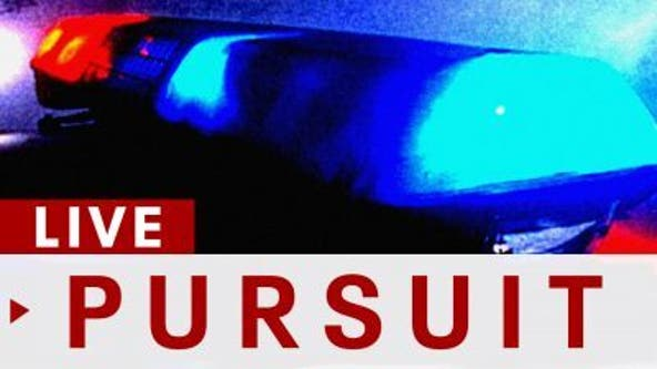 Deputies in pursuit of a possibly stolen pickup truck in Lakewood area