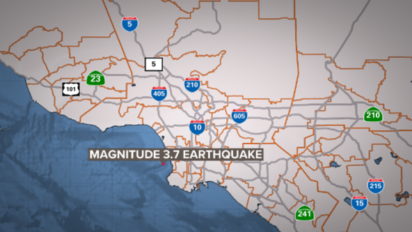 3.7-magnitude earthquake shakes Hermosa Beach area, USGS reports