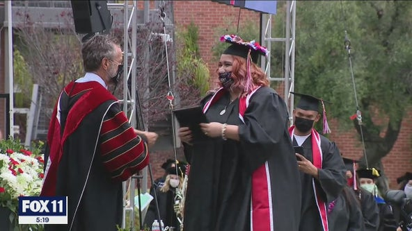 Biola University holds in-person graduation ceremonies