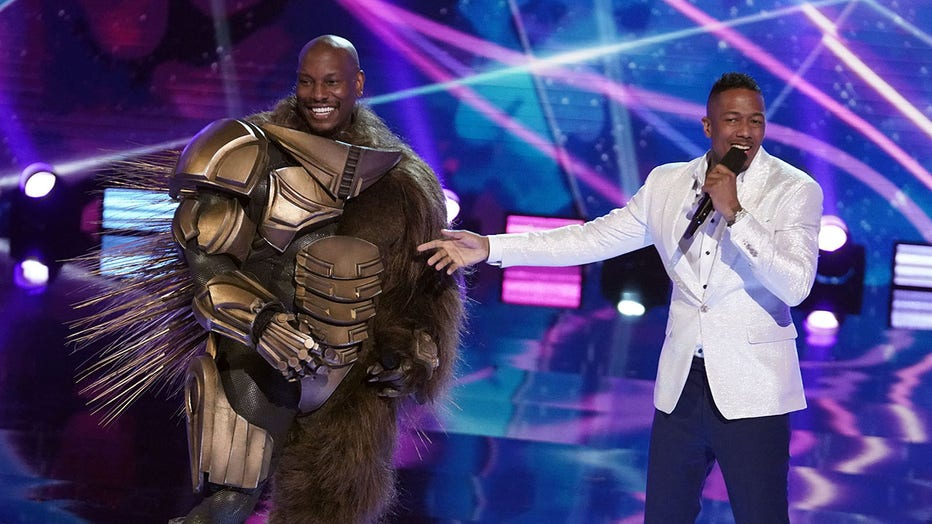 The Masked Singer' Tyrese's reveal as Robopine won 1 sharp FOX Super 6  player $10K