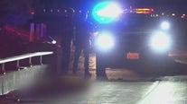 Woman struck by big rig's trailer on 210 Freeway in Glendale