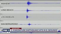 Earthquake strikes near El Segundo
