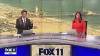 3.4 magnitude earthquake shakes FOX 11 studio
