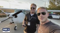 'You kind of revert to instinct:' Pilot and student share story of bizarre 101 Freeway landing
