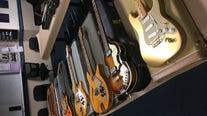Santa Cruz police recover nine vintage guitars stolen from Southern California