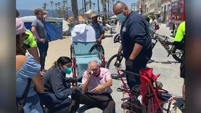 Elderly man viciously attacked in Venice; suspect arrested