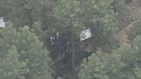 Small plane crashes near Big Bear Airport, 2 hurt