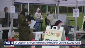Los Angeles County summer jobs program for underserved youth begins