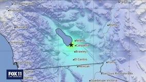Swarm of earthquakes strike near Imperial County