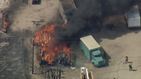 King Fire: Brush fire breaks out in Lancaster, evacuations ordered for nearby residents