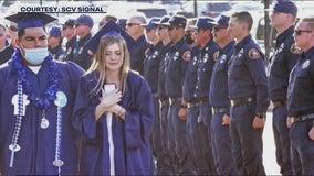 Saugus High choir teacher describes show of support for daughter of fallen firefighter