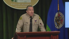Sheriff Alex Villanueva addresses homeless crisis in LA