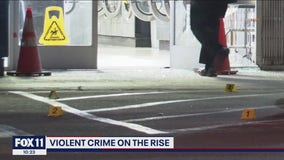 Violent crimes on the rise across Los Angeles