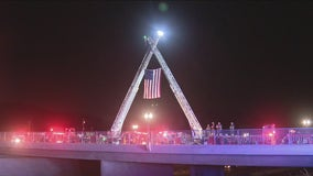 Procession held for murdered Los Angeles County firefighter
