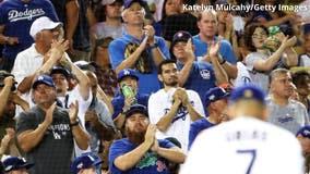 Fans pack Dodger Stadium as California allows full-capacity games