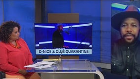 D-Nice kept the party going safely and provided much needed relief during covid with his 'Club Quarantine'
