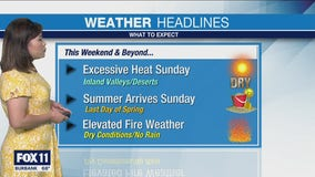 Weather Forecast for Saturday, June 19