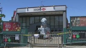 George Floyd statues vandalized in Brooklyn, Newark