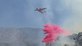 Flats Fire: Crews working to contain fire in San Bernardino National Forest