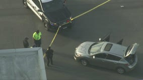 Heavy police presence at LAX after security breach
