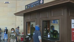 COVID-19 vaccination site opening at Union Station