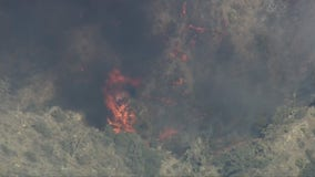 Flats Fire: Crews battling blaze in Inland Empire