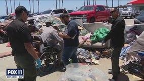 Political turf war over homelessness escalates on Venice Beach