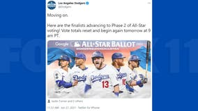 5 Los Angeles Dodgers hitters named MLB All-Star voting finalists