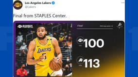 Lakers' bid for repeat NBA Finals run ends after loss to Suns