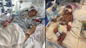 Father warns to take COVID seriously after wife hospitalized, forced to deliver baby at 29 weeks