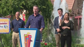 Six Flags to give away 50,000 free tickets to vaccinated Californians, Gov. Newsom announces