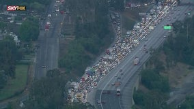 One killed in six-vehicle crash on 605 Freeway in City of Industry