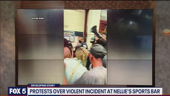 DC bar management says it is 'incredibly upset' after video surfaces showing woman dragged downstairs
